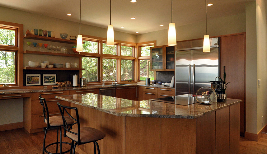 kitchen corner island pinkerton corner wilson architects inc 3421