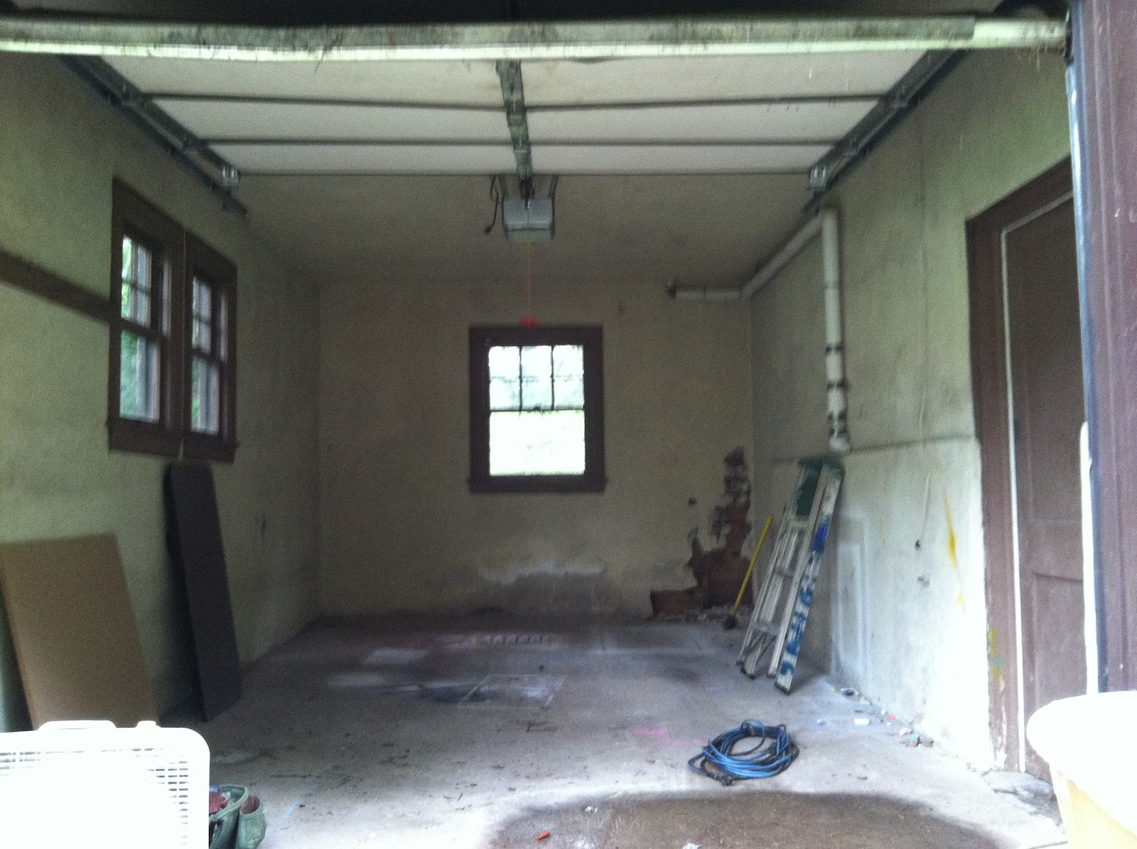 garage to office conversion. Image Of The Garage Interior Before Renovation. We Appreciate Hard And Dirty Work Done By Josh Scala At GreenSource Construction. To Office Conversion