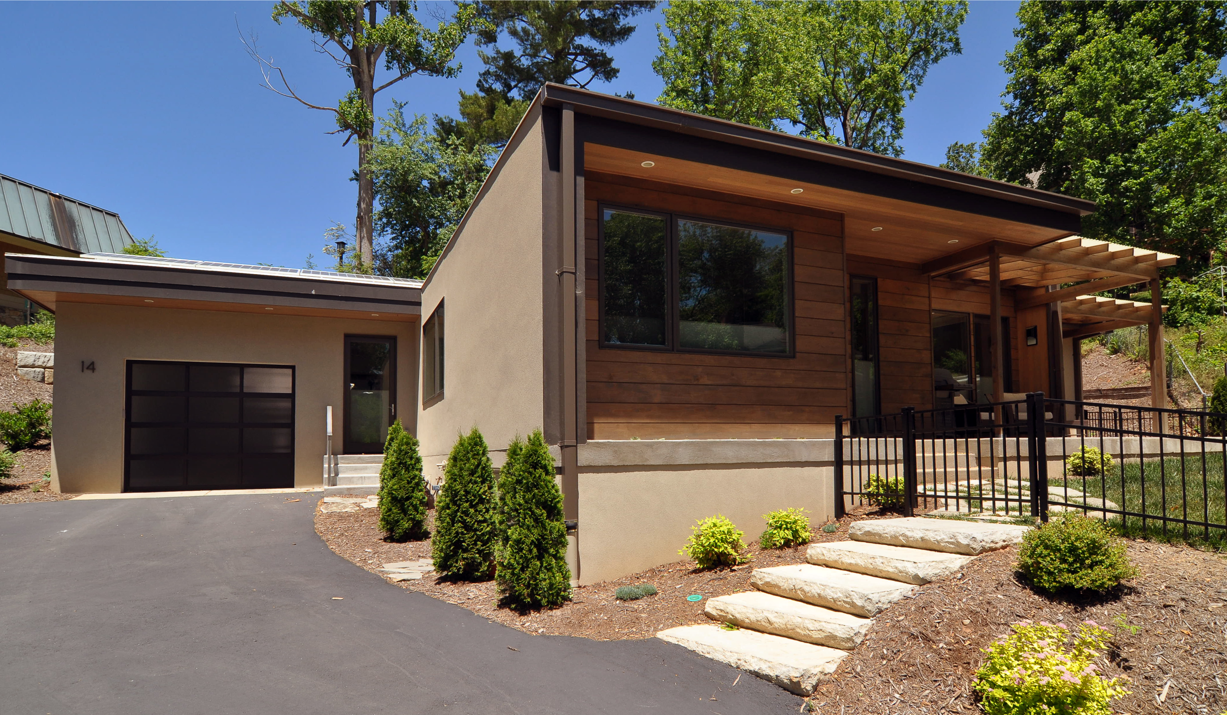 shiplap garage door the meeting rail of each section has a 1 4 kenilwood wilson architects inc